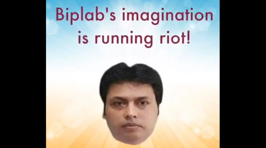 Tripura, Chief Minister, Biplab Deb, BJP, Congress, World Laughter Day