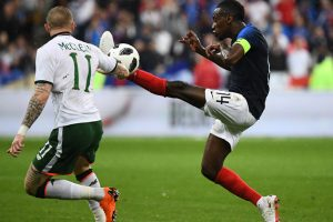 2018 FIFA World Cup: Experimental France see off Ireland in friendly