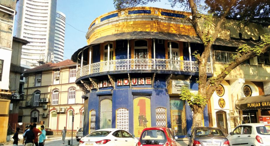 The colourful Kala Ghoda Area