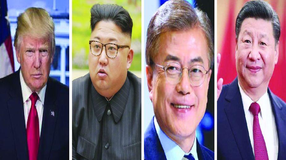 diplomacy, Xi Jinping, Moon Jae-in, inter-Korean summit, Trump-Kim summit