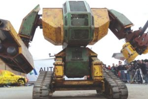 The risk from robot weapons