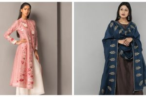 Chanderi dresses, customised jutis: Summer wedding style