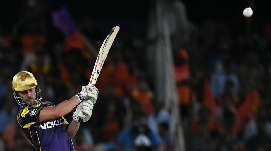 Chris Lynn, KKR, IPL 2018, KKR vs SRH