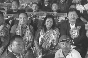 Bimal Gurung supporters in Kalimpong join Trinamool