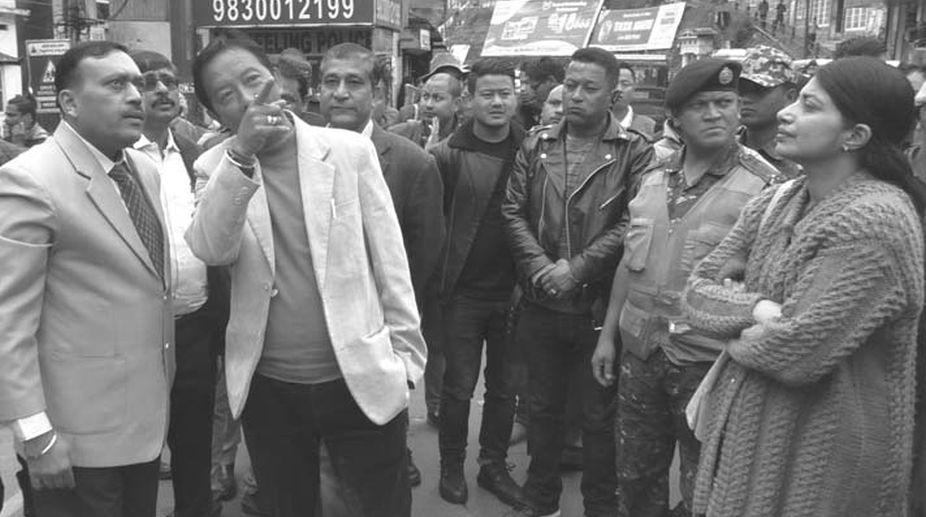 parking lot, Darjeeling, Binoy Tamang, GTA