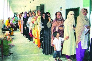 Pak woman voter doesn't exist