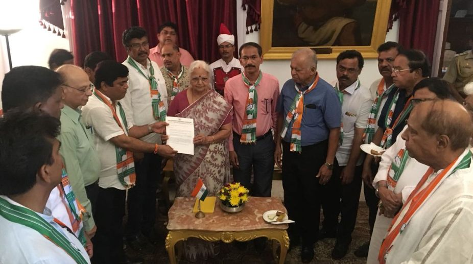 Congress, Goa, Governor, Mridula Sinha