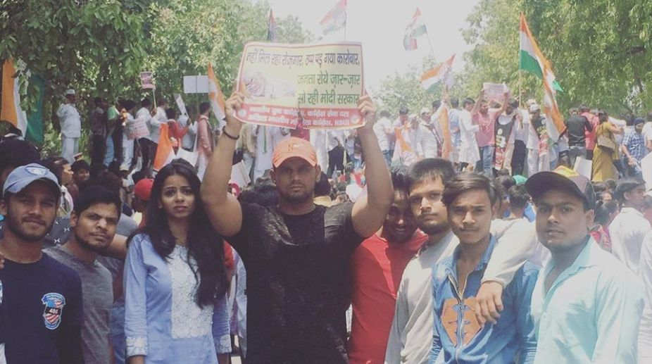 Youth Congress, fuel price rise, Congress Protest, Congress Protest