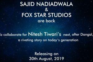 Sajid Nadiadwala to collaborate with Fox Star Studios for Nitesh Tiwari's next