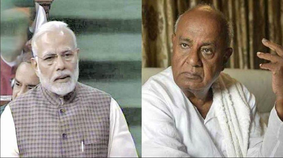 Deve-Gowda-Modi