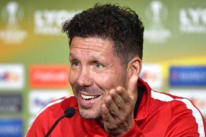 Atletico Madrid coach Diego Simeone expects great Europa League final against Marseille