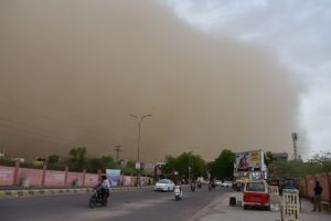 Thunderstorm, dust storm 'very likely' in parts of UP
