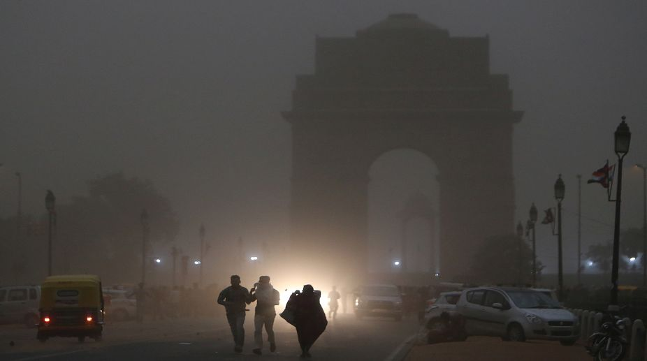 rain, thundershower, thunderstorm, duststorm, Delhi, squall