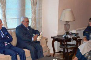 Envoys of Jordan, Algeria call on J-K CM Mehbooba Mufti