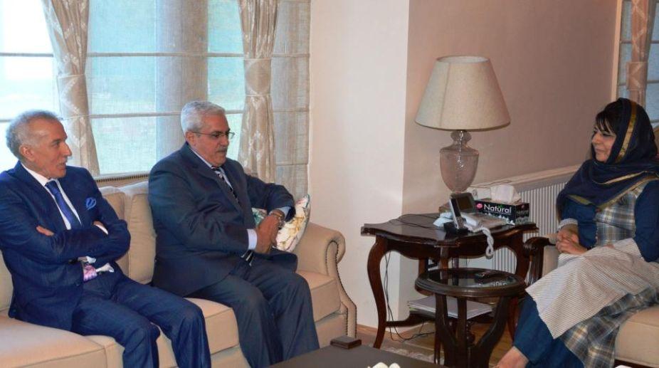 Envoys, Jordan, Algeria, Jammu and Kashmir, Mehbooba Mufti