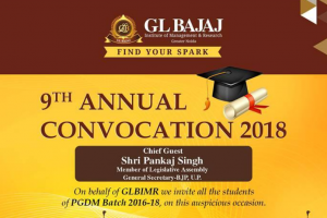9th annual convocation of GLBIMR to be held on June 1