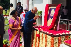 President Kovind pays tribute to Giani Zail Singh on his 102nd birth anniversary