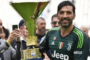 Gianluigi Buffon bids farewell to Juventus in 2-1 win over Hellas Verona