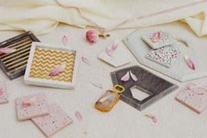 Refresh your home décor with marble trays, pastel walls