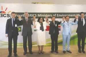 India calls for judicious use of resources at BRICS meet