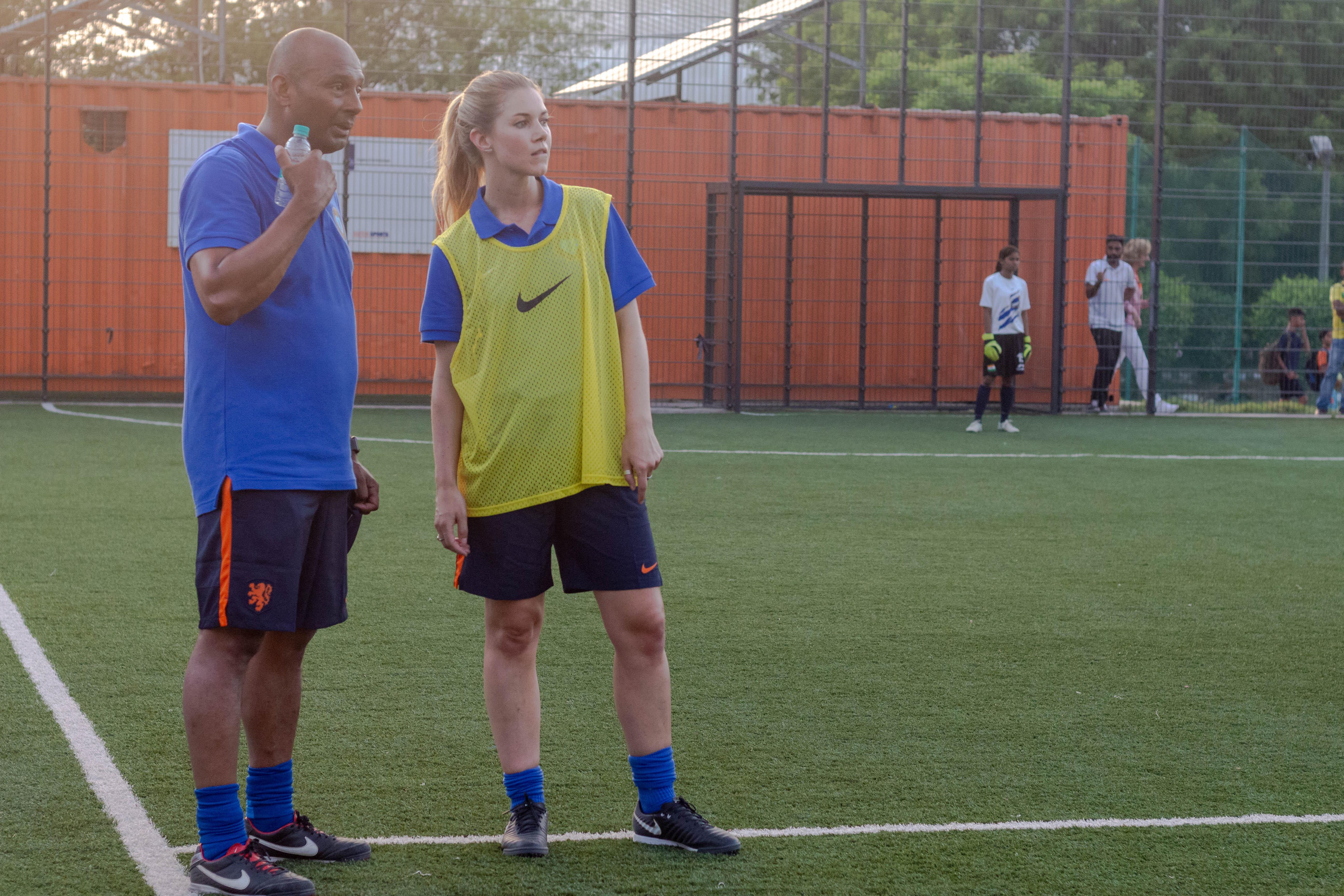 Aron Winter, Anouk Hoogendijk!, Dutch Football, Holland Football, KNVB