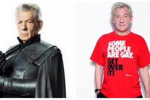 X-men star Ian McKellen: LGBTQ community gets a raw deal even as half of Hollywood is gay