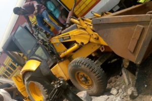 Odisha: Train hits JCB machine near level crossing, 4 injured