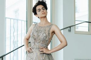 Kangana Ranaut foresaw her walking the Cannes red carpet?