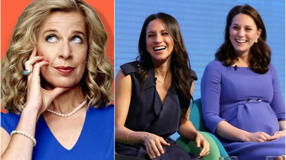 Katie Hopkins, Kate Middleton, Meghan Markle