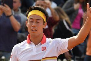 Italian Open: Kei Nishikori sees off Grigor Dimitrov in R2
