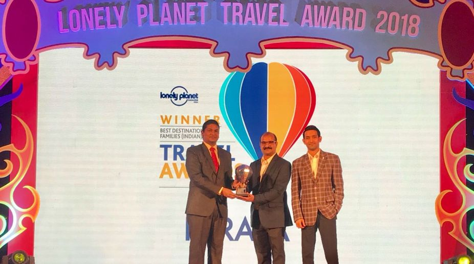 Lonely Planet award, Kerala Tourism