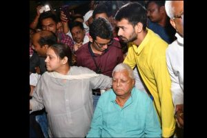Lalu Yadav gets 6-week provisional bail on medical grounds