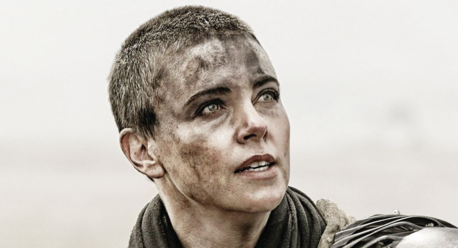 As Furiosa in Mad Max Fury Road, Charlize Theron