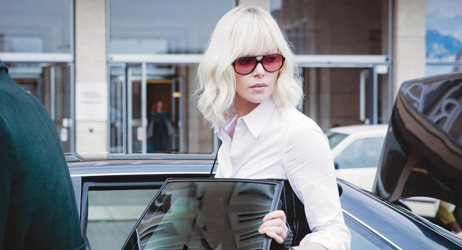 In Atomic Blonde, Charlize Theron