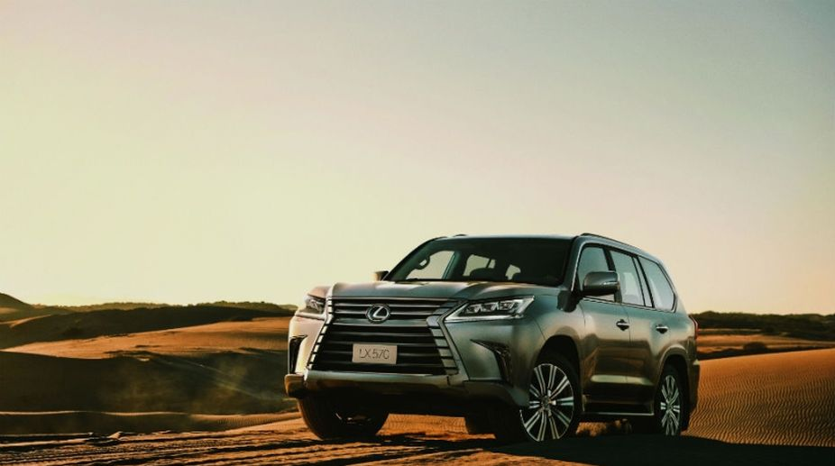 Lexus LX 570, Lexus LX 570 price, Lexus LX 570 India, Lexus LX 570 Launched
