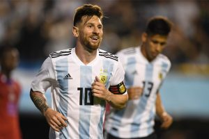 2018 FIFA World Cup: Lionel Messi does the trick as Argentina smash Haiti in friendly