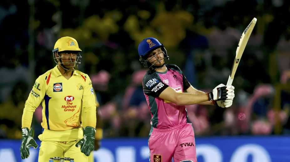 Rayudu's ton helps CSK beat SRH