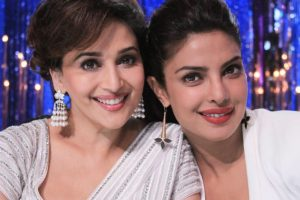 Madhuri Dixit teams up with Priyanka Chopra for first international project