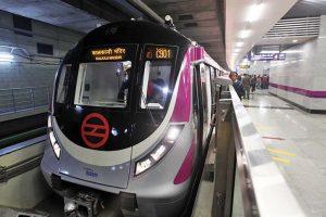Minor interlocking issue on new Magenta Line corridor