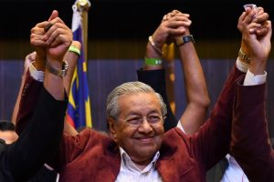 Mahathir Mohamad becomes Prime Minister of Malaysia