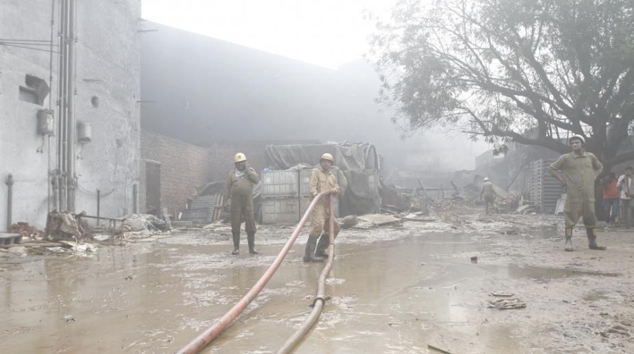 Malviya Nagar fire