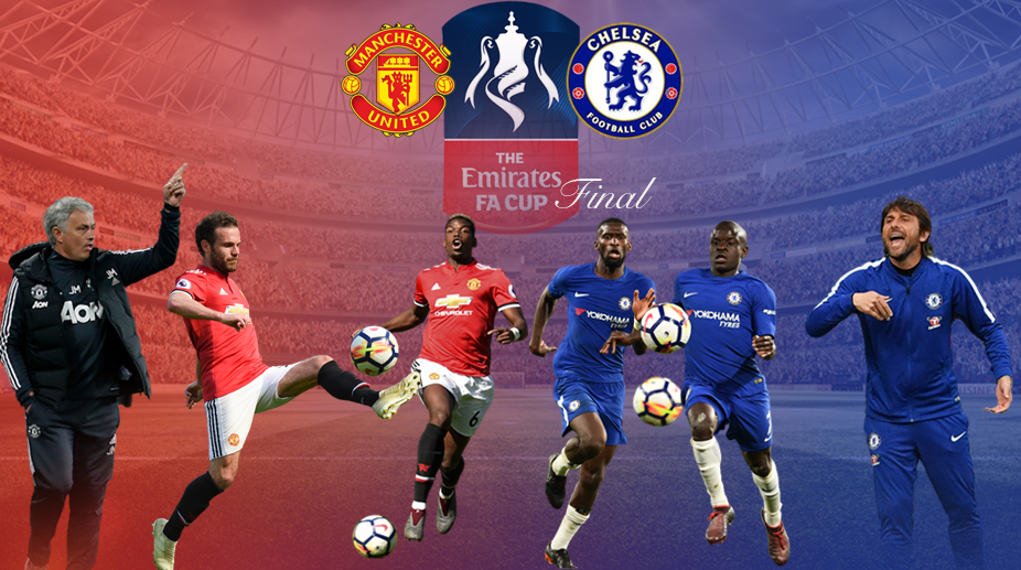 Manchester United vs Chelsea, Manchester United F.C., Chelsea F.C., Premier League, FA Cup, FA Cup Final