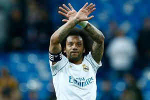 Watch: Real Madrid players complete bin challenge with Marcelo's son Enzo