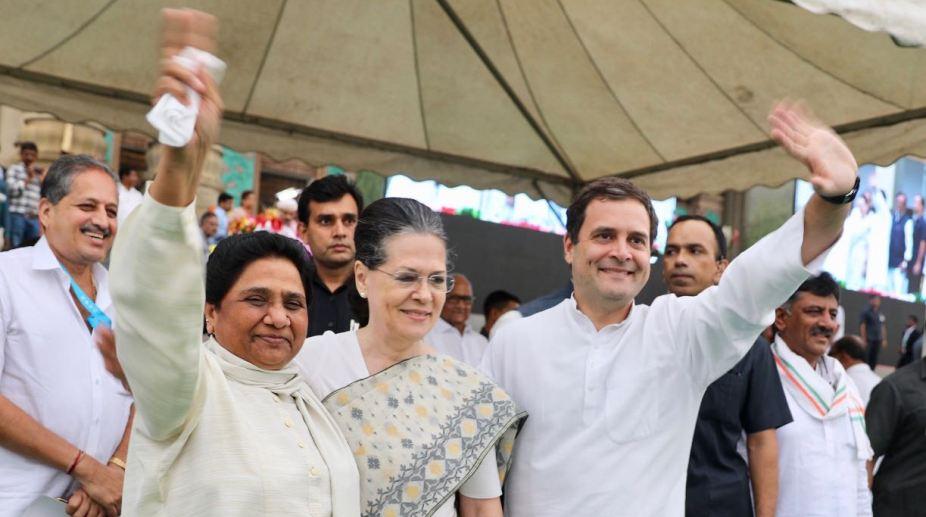 Mayawati Sonia Rahul