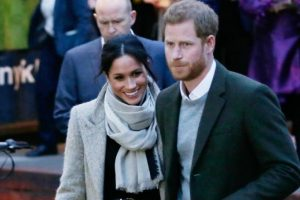 Prince Harry and Meghan Markle become Duke and Duchess of Sussex