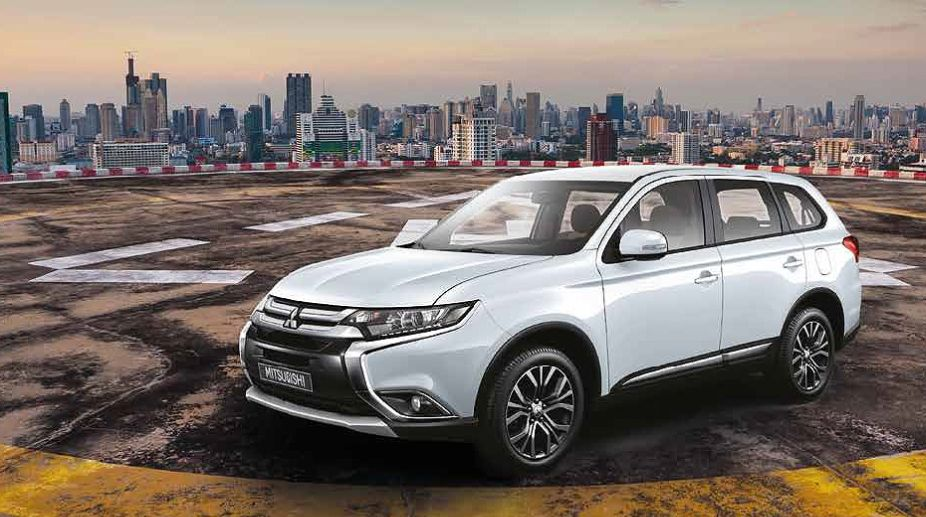New Mitsubishi Outlander launching soon; will compete against upcoming Honda CR-V