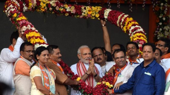 Our fight against corruption has made Oppn parties going into a huddle: Modi