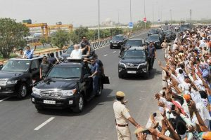 Solar panels, batteries stolen from Expressway opened by PM Modi