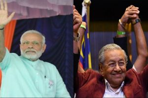 PM Modi congratulates Mahathir Mohamad on being sworn in as Malaysian PM
