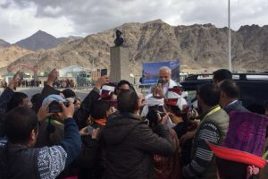 PM Modi reaches Jammu and Kashmir on day-long visit